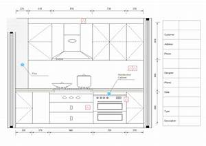 Kitchen Design Diagram Examples And Templates