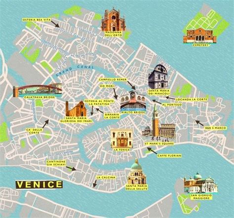 map  venice ideas  pinterest map  venice