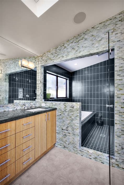 thoughts  shared shower  tub wet areas