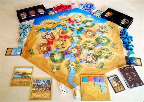 catan collectors edition ancient egypt board game