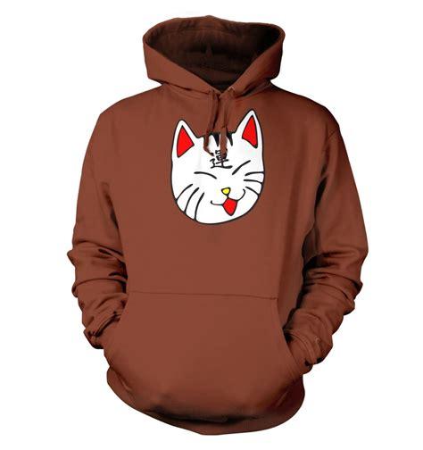 cat hoodie lucky cat hoodie somethinggeeky