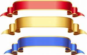 Ribbon cliparts