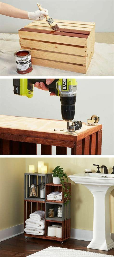 idees  tutos pour fabriquer  meuble en cagette
