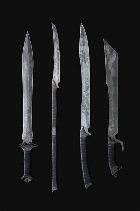 weapons sword zombie tools hand hunger weapon games swords blades otaku magic cool melee sick fantasy game forged rpg knives