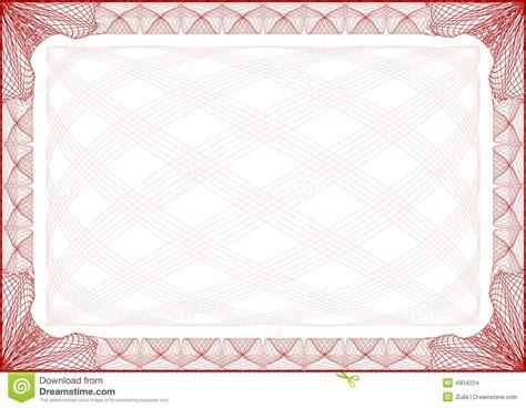lettre de cadre de certificat images stock image 4904224