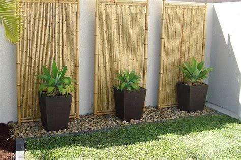 garden decoration with bamboo creative ideas with bamboo diy motive