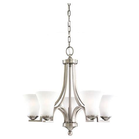 antique nickel chandelier sea gull lighting somerton 5 light antique brushed nickel