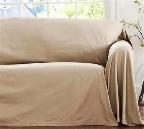 slipcovers that fit pottery barn sofas dropcloth loose fit slipcover twill pottery barn