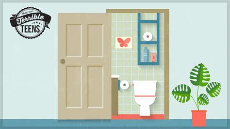How To Unlock A Bedroom Door From The Terrible I Leave The Bathroom Door Open Even When
