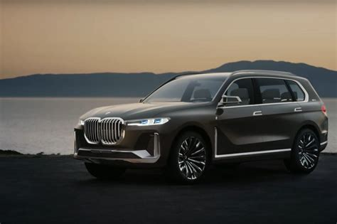 Video Bmw X7 Concept Shown In Short Teasers Alongside New
