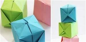 Einfache Papierblume Basteln : origami faltanleitungen ~ Eleganceandgraceweddings.com Haus und Dekorationen