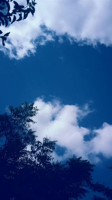 blue aesthetic cloud wallpapers