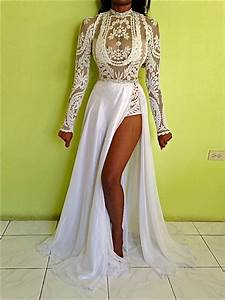 lace wedding dress shop for lace wedding dress on wheretoget With wedding dress bodysuit