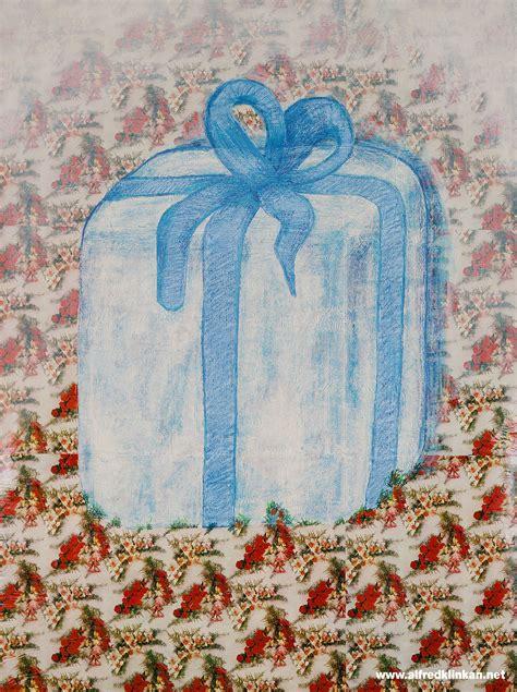 geschenkpapierarbeiten  alfred klinkan