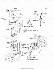 Kawasaki Jet Ski 2008 Oem Parts Diagram For Electrical
