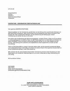 Begleichung Der Rechnung : vereinbarung ber ratenzahlung vorlagen und muster ~ Themetempest.com Abrechnung
