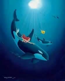 Little Mermaid Orca Killer Whales