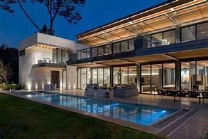 Casa Vista al Lago Arquitectura en acero
