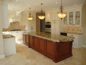 2 Level Kitchen Island Large 2 Level Island Kitchen Traditional Kitchen Other Metro By Renaissance Kitchen And Home