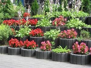 Hochbeet Blumen Bepflanzen : deko ideen pflanzsteine setzen und bepflanzen gartengestaltung ideen und tipps ~ Watch28wear.com Haus und Dekorationen