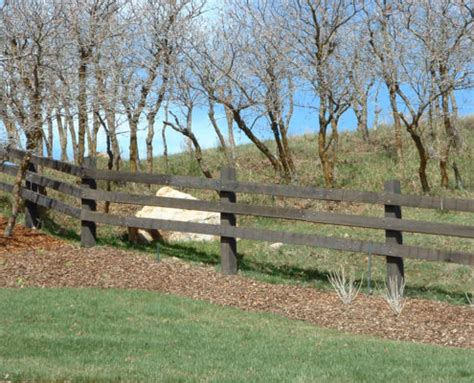 wood ranch rail fence fence deck supply