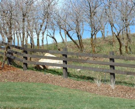 wood ranch rail fence fence deck supply