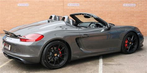 Porsche Boxster S For Sale by Used 2015 Porsche Boxster 981 12 Current Spyder For Sale