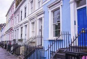 Notting Hill Stadtteil : traditionelle bunte h user im stadtteil notting hill in der n he von portobello road london ~ Buech-reservation.com Haus und Dekorationen