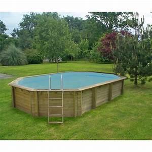 Piscine Hors Sol : piscine hors sol bois weva proswell l 6 4 x l 4 x h ~ Melissatoandfro.com Idées de Décoration