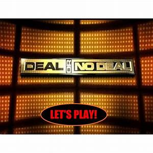 Deal or no deal template powerpoint free interactive for Deal review template