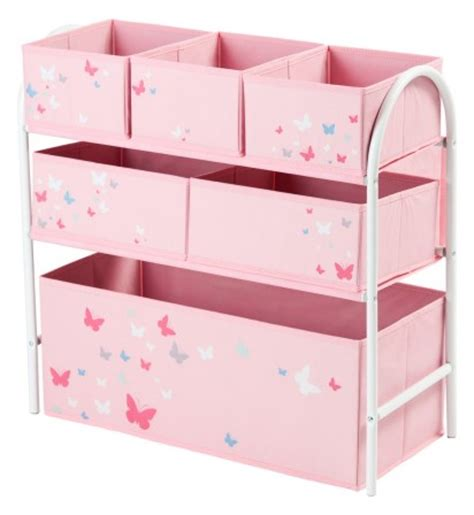 rangement et gain de place dans la chambre d un enfant etag 232 re de rangement avec bac et espace