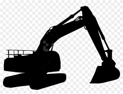 excavator silhouette png excavator silhouette transparent png  pngfind