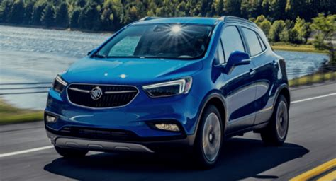 buick encore  review spy shots