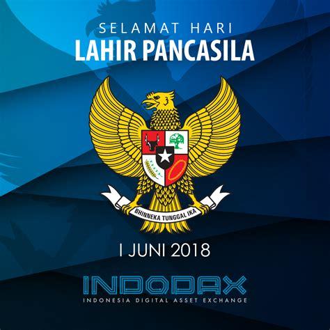 Use this photo filter and share it on your social media! Selamat Hari Lahir Pancasila 2018 - Blog Indodax.com