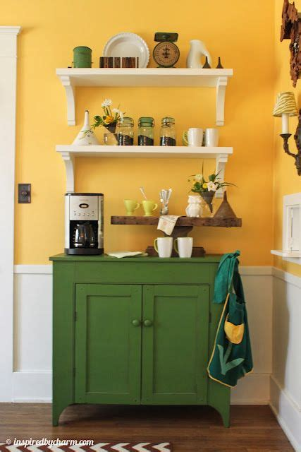 dining room shelves green cabinets cabinets  bar