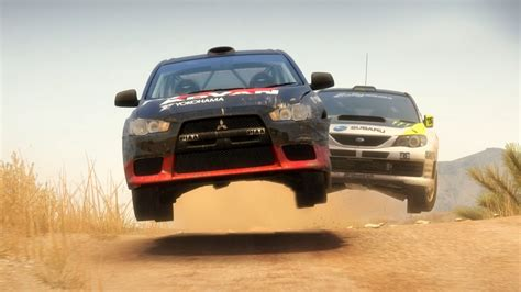 video games cars jump rally dirt  mitsubishi lancer