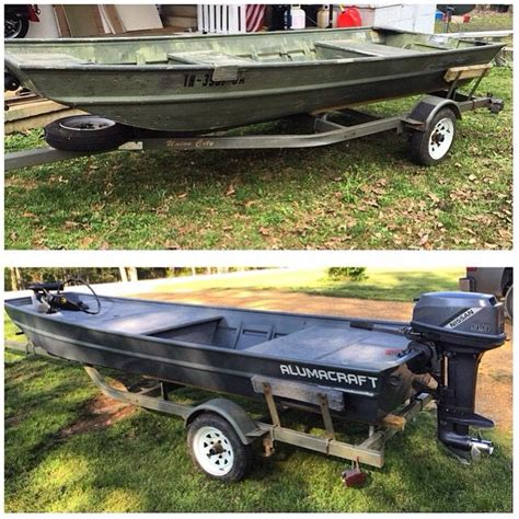 Jon Boat Trailer Rebuild by 17 Best Images About B 229 T Restaurering On