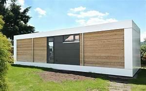 Moderne Container Häuser : cubig minihaus singlehaus modern living concept wohncontainer containerhouse pinterest ~ Whattoseeinmadrid.com Haus und Dekorationen