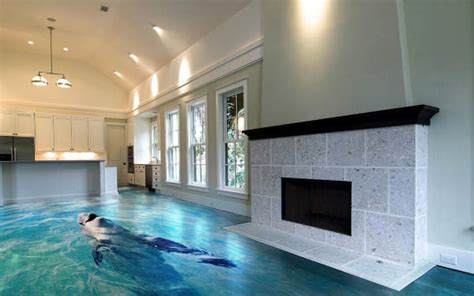Amazing 3D Floor Tiles Turn Your Home Into Another World