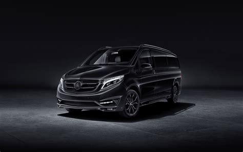 2018 Larte Design Mercedes Benz V Class Black Crystal