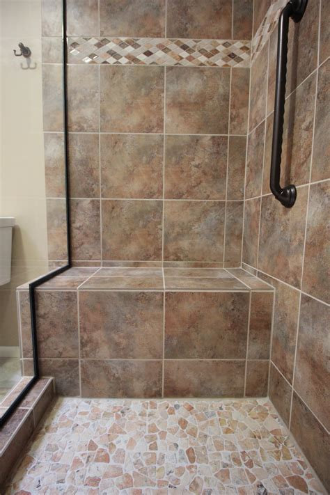 Large Custom Shower Seat   Home Run Solutions