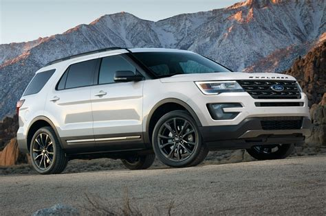 New 2017 Ford Explorer Limited Fwd 77058