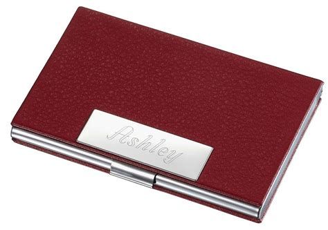 Visol Samantha Red Leather Business Card Case For Women Creative Business Cards For Engineers Electronic Card Mobile Professional Engineer American Express Extended Warranty Free Editor Software Printing Malaysia Types Strubensvalley