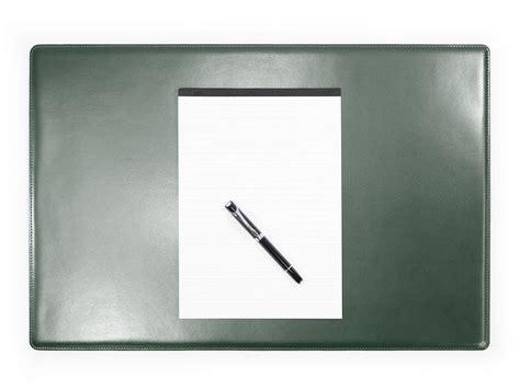 sous de bureau en cuir vert sm700