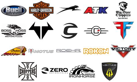 Usa Motorcycle Brands, Companies, Logos Motorcycles