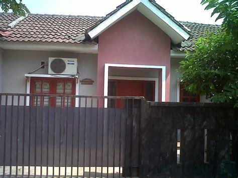 desain pagar rumah minimalis modern type  desain rumah