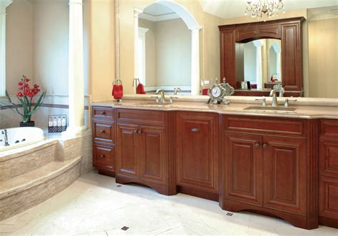 Bathroom Cabinets : Bathroom Vanity Cabinets Design And Materials-traba Homes