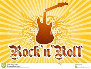 Rock And Roll Cool Background Royalty Free Stock Image ...