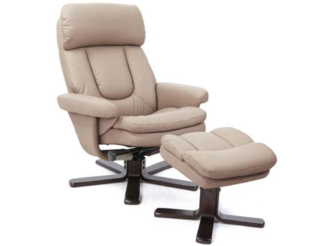 canapé avec repose pied intégré fauteuil relaxation repose pieds charles coloris taupe