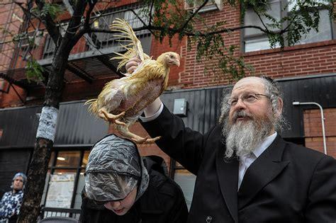 yom kippur    tashlich  kapparot rituals